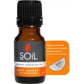 SOiL Ulei Esential Orange 100% Organic ECOCERT 10ml