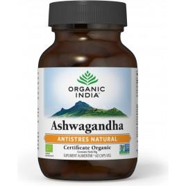 Organic India Ashwagandha   Antistres Natural 60 caps