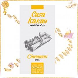 Ciocolata artizanala cu scortisoara -  70 g