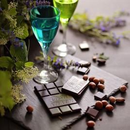 Ciocolata artizanala Gianduja cu alune -  70 g