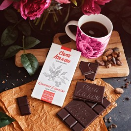 Ciocolata artizanala Gourmet Espresso -  70 g