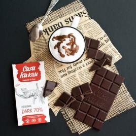 Ciocolata artizanala Original Dark 70% -  70 g