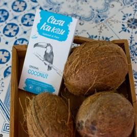 Ciocolata artizanala cu nuca de cocos - 70 g
