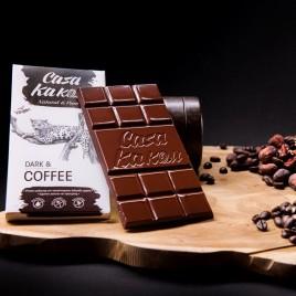 Ciocolata artizanala cu boabe de cafea - 70 g